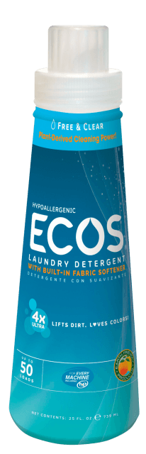 Ultra Concentrated Hypoallergenic Laundry Detergent - Free & Clear - Image