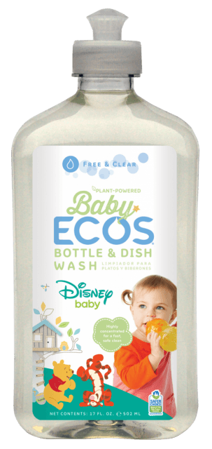 Baby Bottle & Dish Wash - Disney - Image