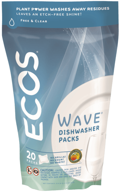 Wave Dishwasher Detergent Packs - Free & Clear - Image