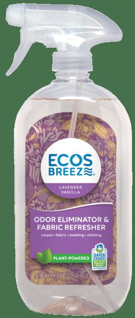 ECOSBreeze® Odor Eliminator & Fabric Refresher - Lavender Vanilla - Image