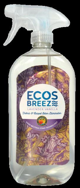 ECOSBreeze® Fabric & Carpet Odor Eliminator - Lavender Vanilla - Image