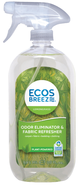 ECOSBreeze® Odor Eliminator & Fabric Refresher - Lemongrass - Image