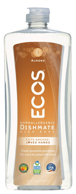 Dishmate Dish Soap - Almond - Image