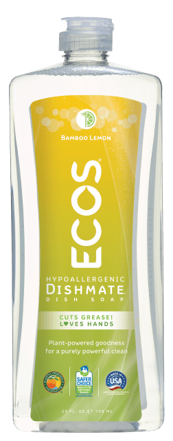 Dishmate Dish Soap - Bamboo Lemon - Image