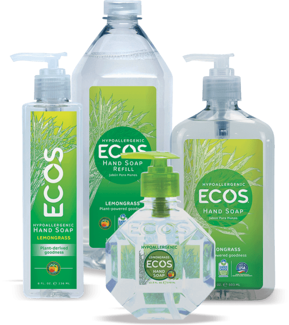 Hypoallergenic Hand Soap - Lemongrass - Image