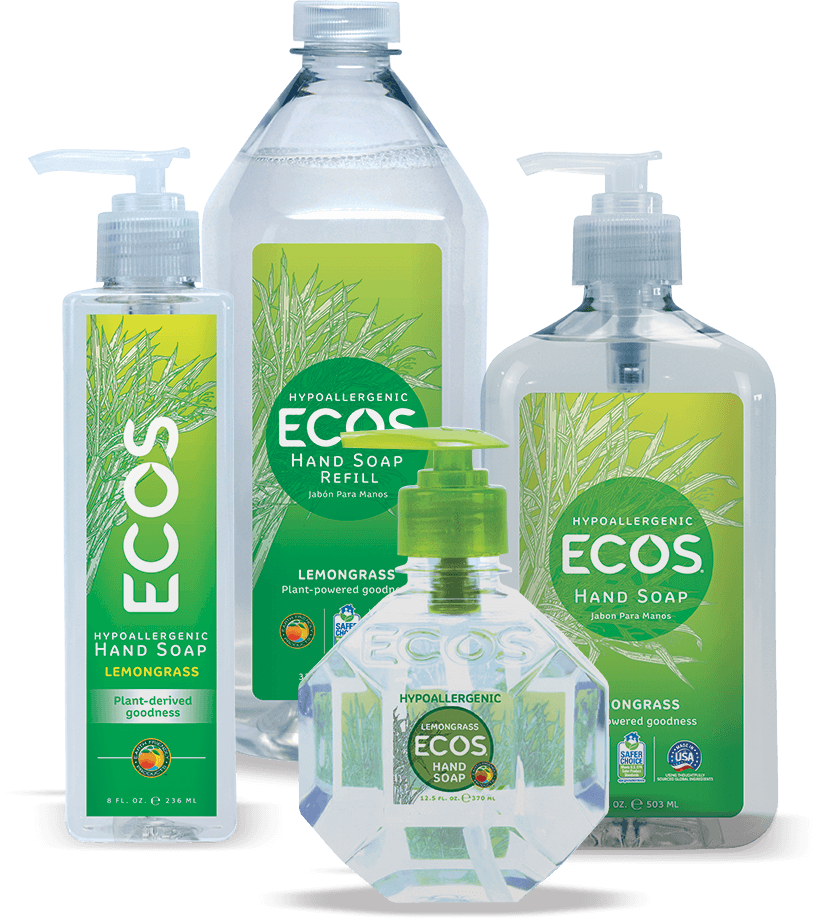 Lemongrass Hand Soap Hypoallergenic Hand Soap Ecos