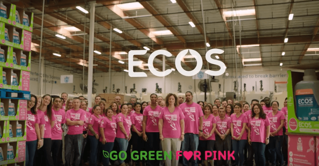 Post image - Why we are Going Green for Pink and how you can too