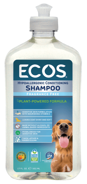 Hypoallergenic Pet Shampoo - Free & Clear - Image