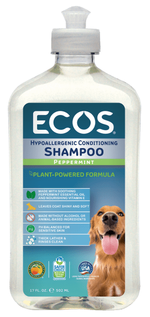 Hypoallergenic Pet Shampoo - Peppermint - Image