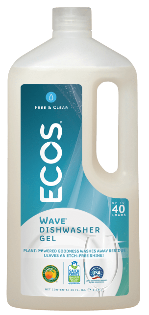 Wave Dishwasher Gel - Free & Clear - Image