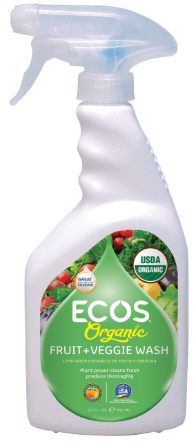 Organic Fruit + Veggie Wash - Image