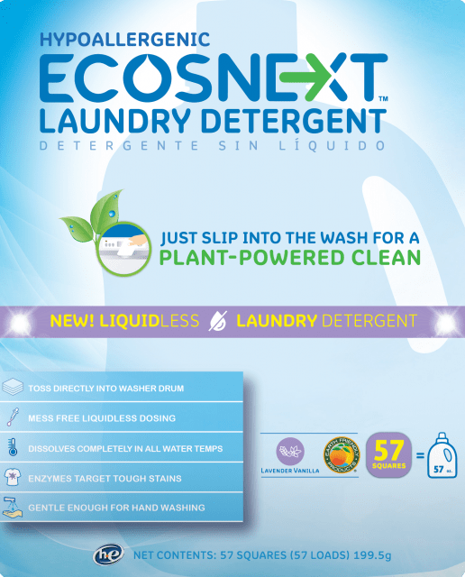 ECOSNEXT™ Liquidless Laundry Detergent - Lavender Vanilla - Image