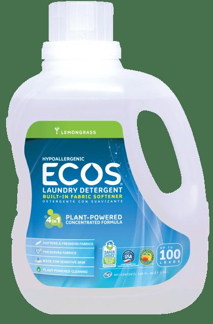 Hypoallergenic Laundry Detergent - Lemongrass - Image