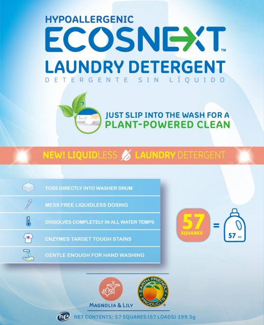 ECOSNEXT™ Liquidless Laundry Detergent - Magnolia & Lily - Image