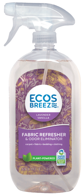 ECOSBreeze® Fabric Refresher & Odor Eliminator - Lavender Vanilla - Image